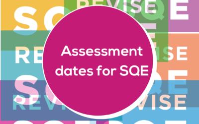 First SQE2 Assessment Dates